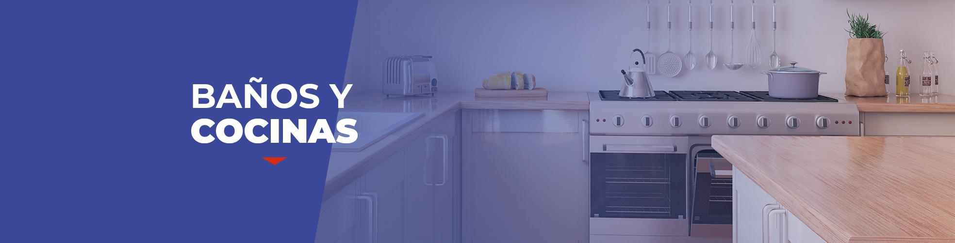 Baño y Cocinas