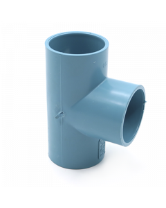TEE PVC PRES CEM    40 X  40 MM