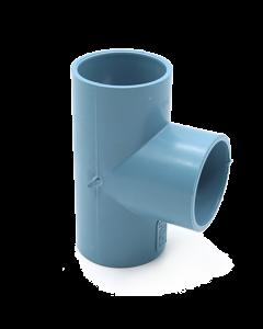 TEE PVC PRES CEM    63 X  63 MM