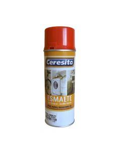 ESMALTE SPRAY FLUOR ROJO CERESITA 485ml