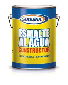 ESMALTE AGUA CONST. AZUL ELEC SOQUINA GL